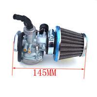 Pz19 19mm Carburetor 50cc -110cc Atv Quad 4 Wheeler Go Karts Buggy +air Filter