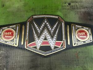 Wwe Championship Belt Hulk Hogan Side Plates Adult Ebay