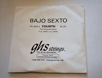 Ghs Bajo Sexto Fourth Pair Strings Bsx-4 2 Lw62 Lw30