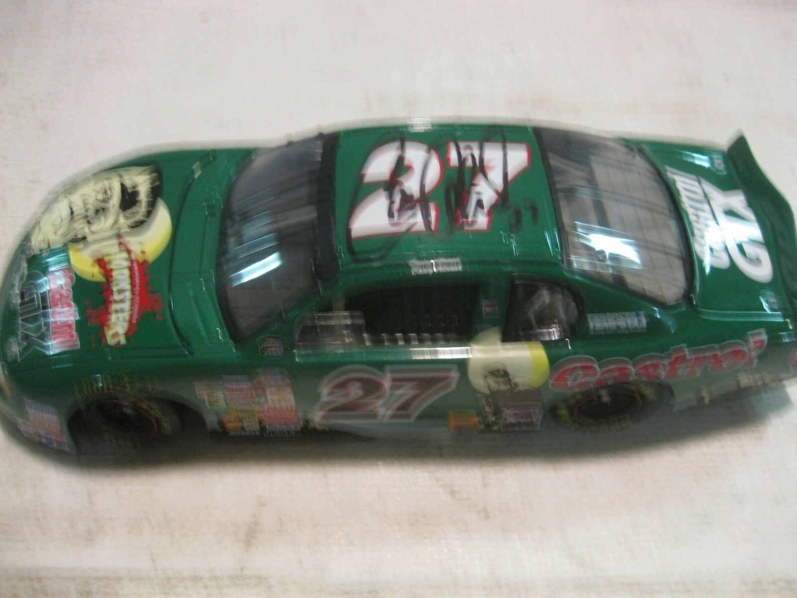 Nascar Casey Atwood Castro Monte Carlo 124 Scale Diecast Action 2000   dc408