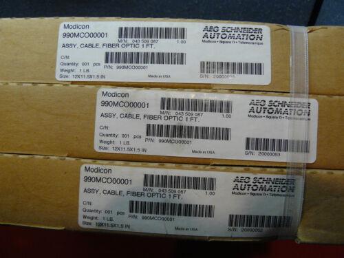 Modicon Fiber Optic Cable 990-MCO-000-01 990MCO00001 NEW SEALED