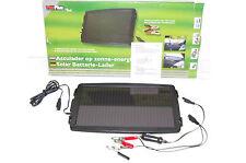 12V Solarladegerät Solarmodul Batterieladegerät NEU&OVP