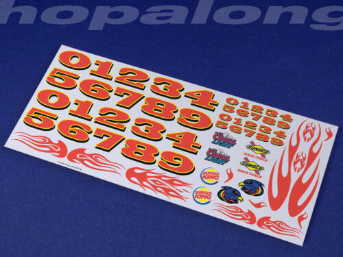 ws007w Scalextric//Slot Car 1//32 Scale Waterslide Decals
