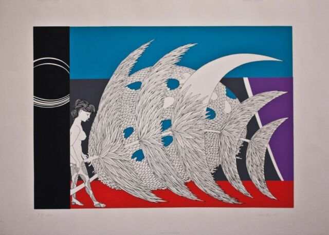 Wolfgang Hutter - o. T. - Lithographie - 1971 - 57/100