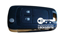 used Vauxhall Insignia Astra 2 button flip remote key fob GM 13500233