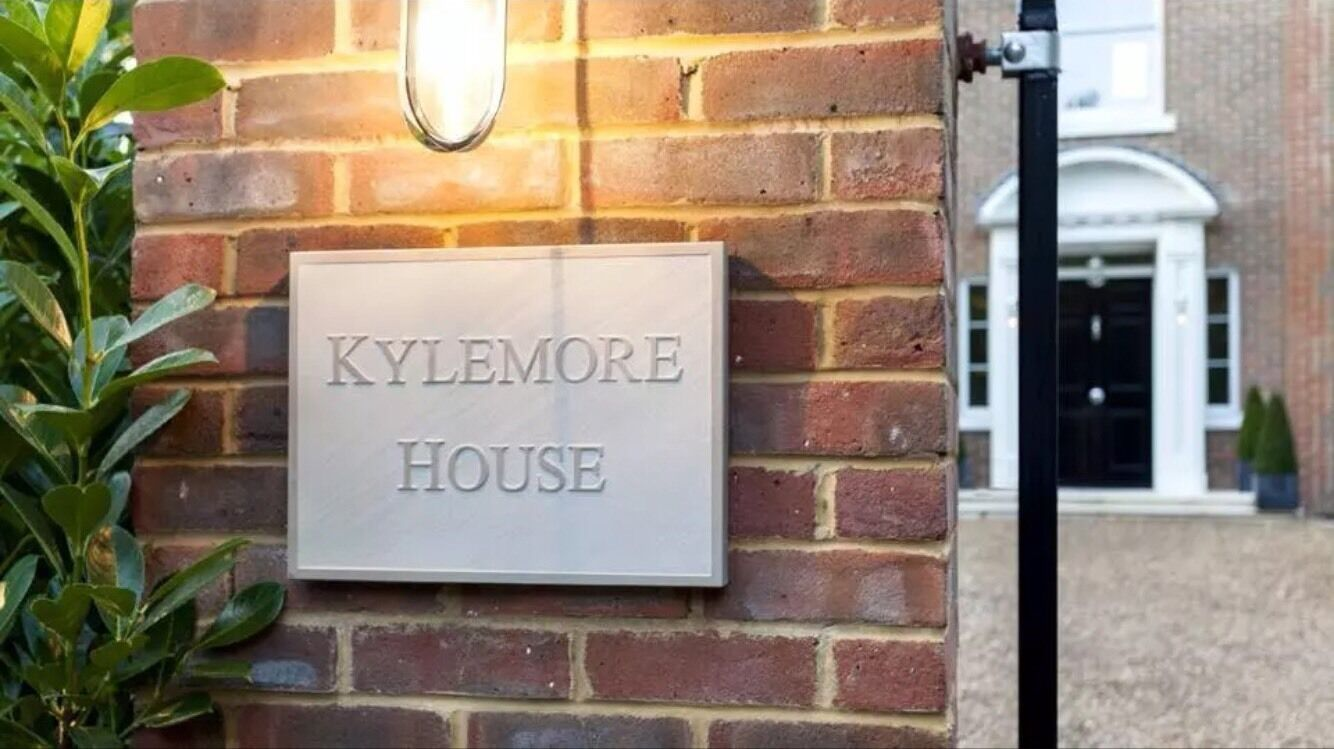 16  12 Relief Engraved Sandstone House Sign Deeply Engraved To Your Requirements