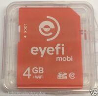 Eye-fi 4gb Wifi Sdhc Class 10 Memory Card In Frustration Free Packaging