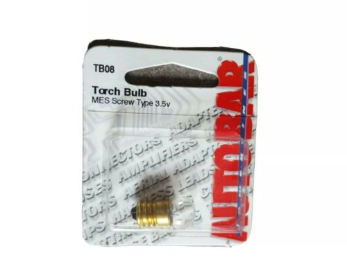 A Pack Of Torch Bulb MES Screw Type  3.5v TB08
