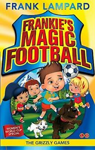 Good-The-Grizzly-Games-Book-11-Frankie-039-s-Magic-Football-Paperback-Lampard