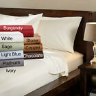 Luxury Soft Brushed Microfiber bed Sheet Set Deep Pocket