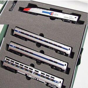Kato-106-6286-2-N-Amfleet-P42-40th-Anniversary-Phase-II-locomotive-3-Car-Set