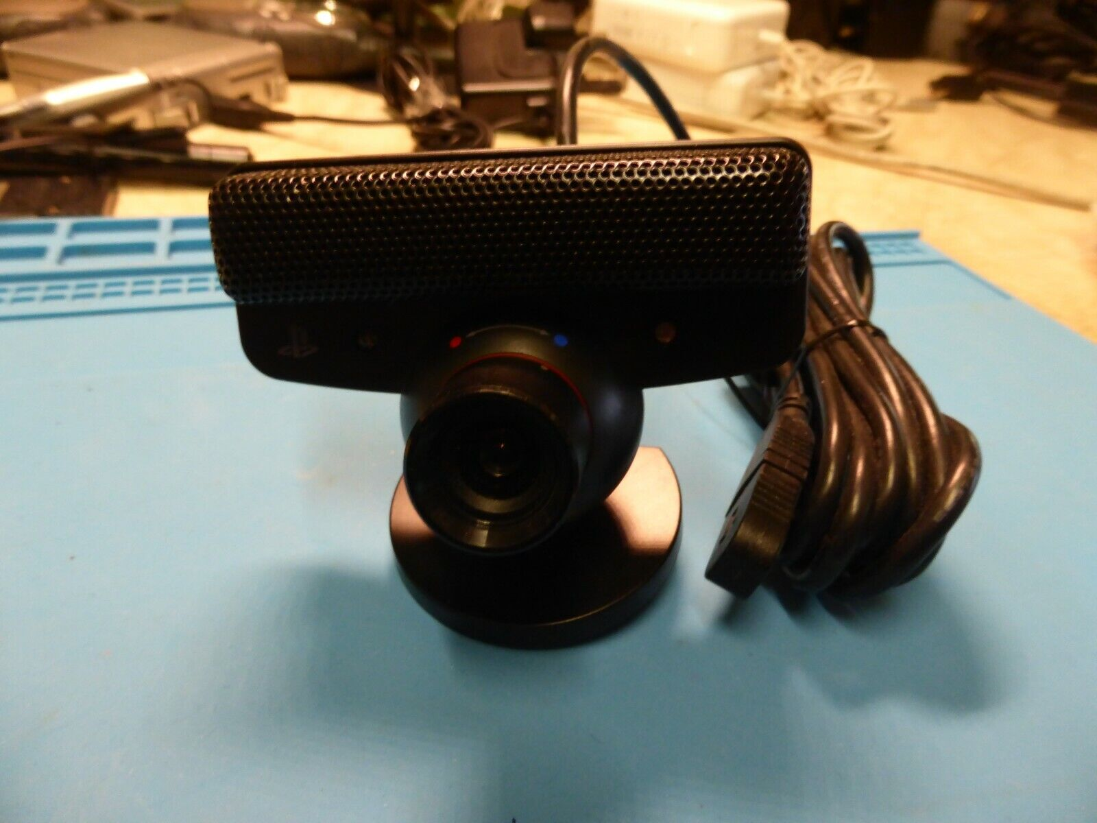 Genuine Sony Playstation 3 eyetoy camera black PS3 official - Unused