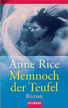 Chronik der Vampire: Memnoch der Teufel.: Bd 5 von Rice,...   Buch   Zustand gut