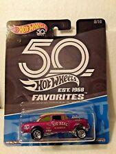 Hot Wheels 50th Anniversary Favorites 69 Camaro Yellow 2018