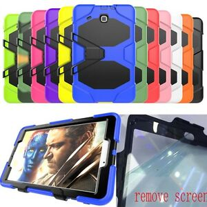 finest selection c9ba3 d7210 Details about Waterproof/Dirt/Shockproof Stand Case Cover For Samsung  Galaxy Tab E 9.6