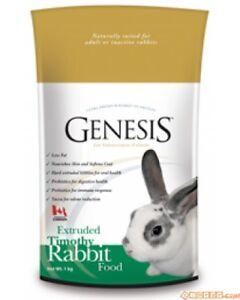 Genesis Green Food Extrusion Complète Lapins Kg 5 Fibres de Mousse de Yucca Omega 3 & 6
