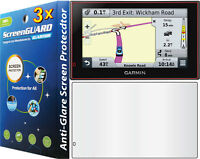 3x Anti-glare Matte Lcd Screen Protector Garmin Nuvi 2599 2599lmt-d 2599lmt-hd