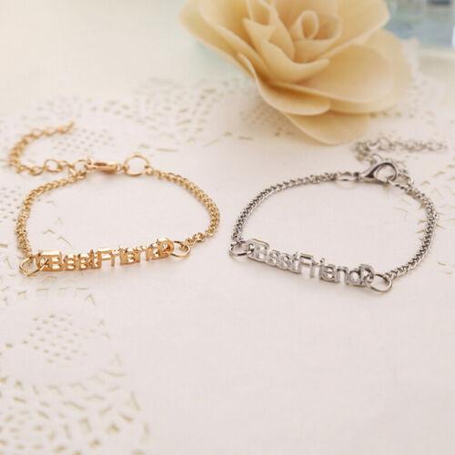 Charm Letters Friendship Bracelets For Unisex Jewelry Gifts for Best Friend YNUK