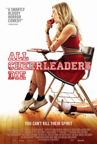 Art print POSTER CANVAS all cheerleaders die 2013