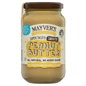 Mayver's Peanut Butter Smooth 375g