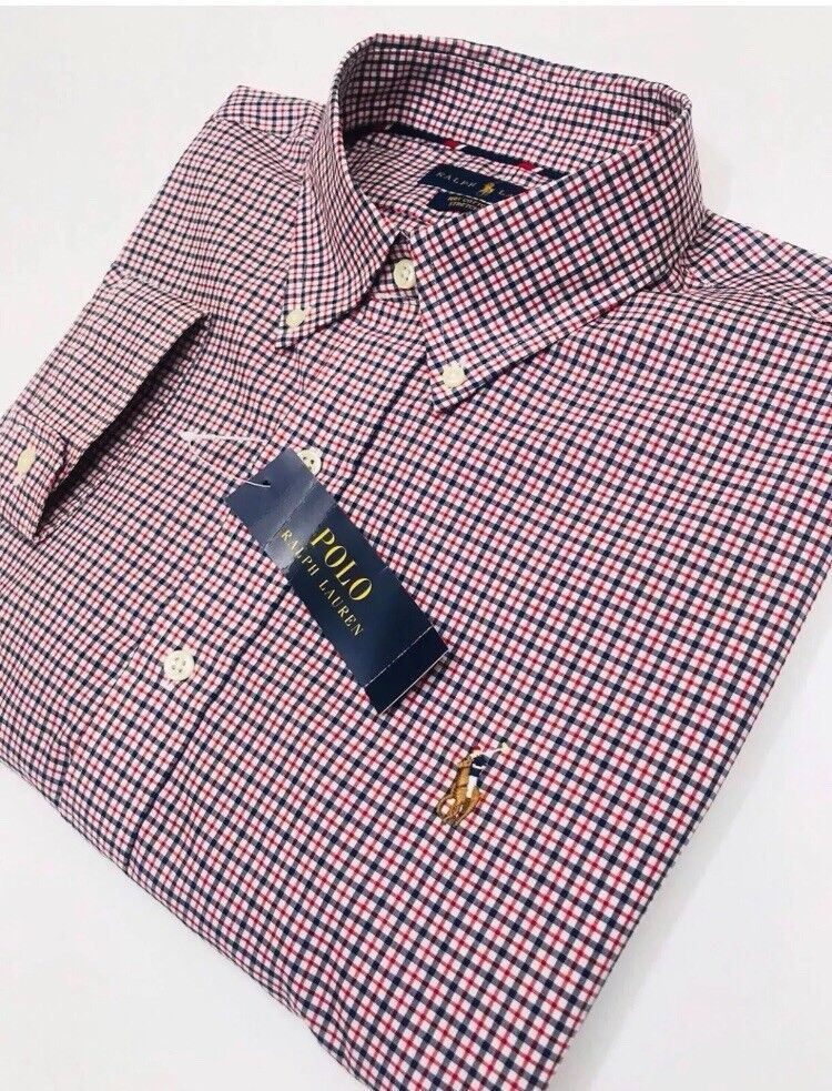 GENUINE RALPH LAUREN SHIRT. (slim fit ) Size Large