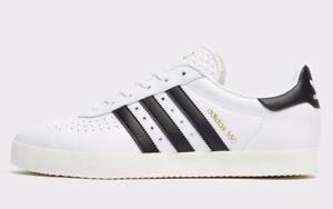 350 2018 Leather uomo Bianco Adidas misura ® Originals esclusiva Uk Autentica 7 11 wqB7tW