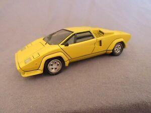 523f Record Model Kit Assembled Lamborghini Countach Pin 1 43 Ebay