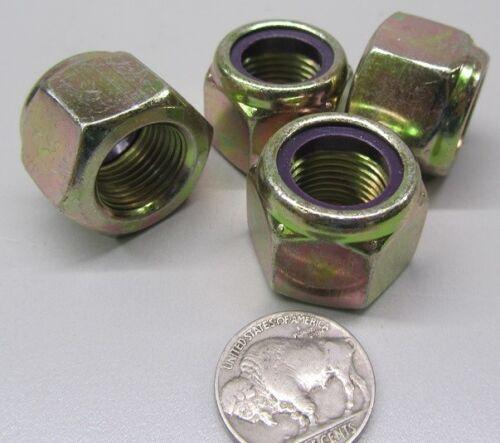 """5//8/""""-18 x 15//16/"""" W x 3//4/"""" H RH Nylon Insert Hex Lock Nut 10 Pcs GR 8 Steel"""