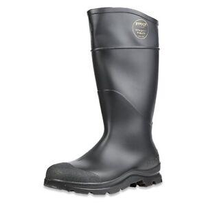 Mens Rubber Work Boot Waterproof Steel Toe 14