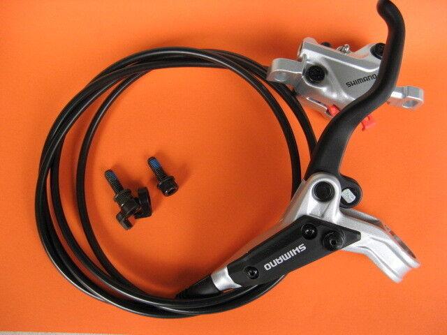 BR-M447 BL-M445 Scheibenbremse PM Hinterrad - Disc Brake silber NEU