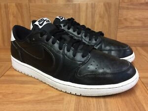RARE-Nike-Air-Jordan-1-Retro-Low-OG-Cyber-Monday-Black-Leather-705329-010-11