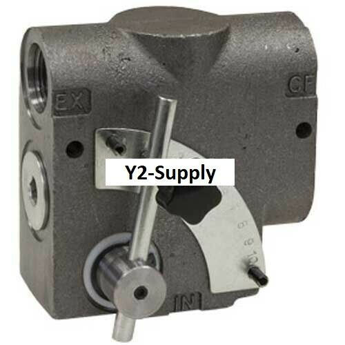 NEW! Buyers Side Ported Adjustable Flow Control Valve, #12