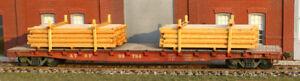 AMB American Model Builders LaserKit  Lumber Load Kit  HO Scale #289 Bob The Tra