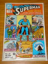 SUPERMAN #423 VOL 1 DC COMICS NEAR MINT ALAN MOORE SEPTEMBER 1986