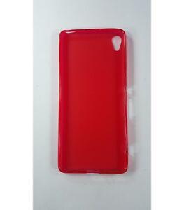Funda-de-gel-TPU-carcasa-protectora-silicona-para-Sony-Ericsson-Xperia-XA-Roja