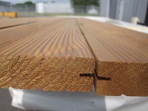 Das Bild Wird Geladen Thermo Kiefer Terrassendielen Thermoholz Holz Balkon  Terrassenholz Braun
