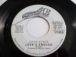 David-Ackles-Love-s-Enough-45-1972-Elektra-Promo-Vinyl-Record