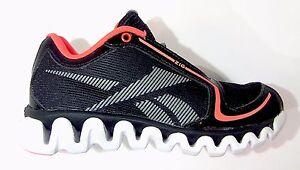 Image is loading Reebok-Kids-Preschool-ZIGLITE-RUN-Shoes-Black-Orange- 102aa3592