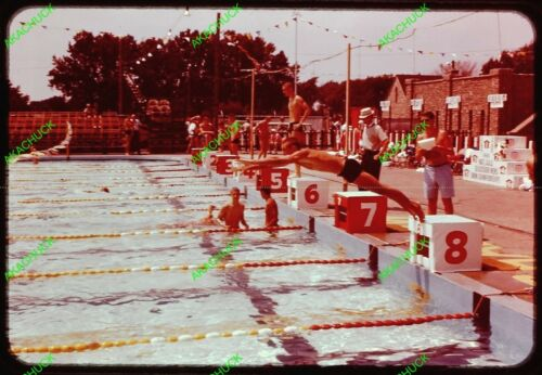 28 Orig Slides Mens AAU Swimming Championship 1960 Toledo Ohio Webster Groves MO