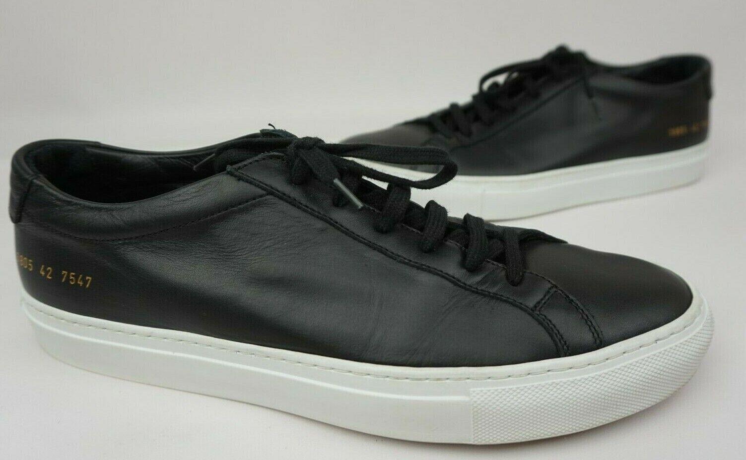 barato Mujer por proyectos comunes Original Original Original Aquiles Baja Zapatillas Zapatos Negro Tamaño 42 12  a la venta