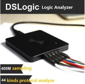 Analizador-USB-logica-dslogic-Basic-16Ch-100-MHz-4Ch-400-MHz-Xilinx-Spartan-6-FPGA