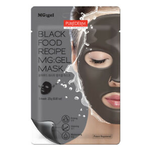 Purederm black food recipe mggel mask 125pcs lot ebay image is loading purederm black food recipe mg gel mask 1 forumfinder Choice Image