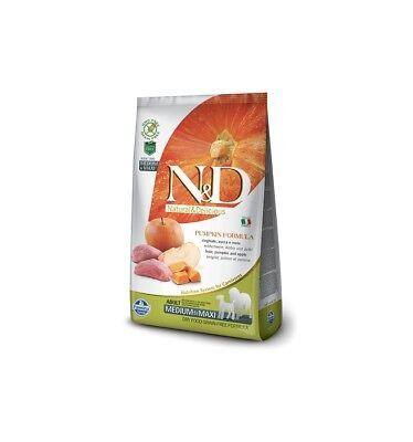Costante Farmina N/d Grain Free Pumpkin Adult Medium Maxi Cinghiale Zucca Mela 12 Kg