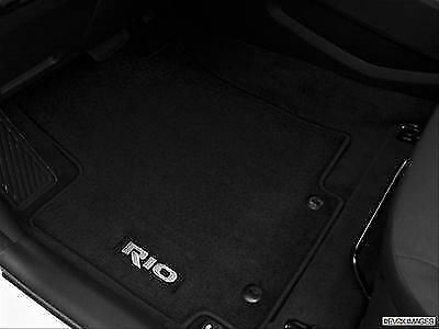 Genuine Kia Rio Rhd Dark Grey Velour Front And Rear Car Mats