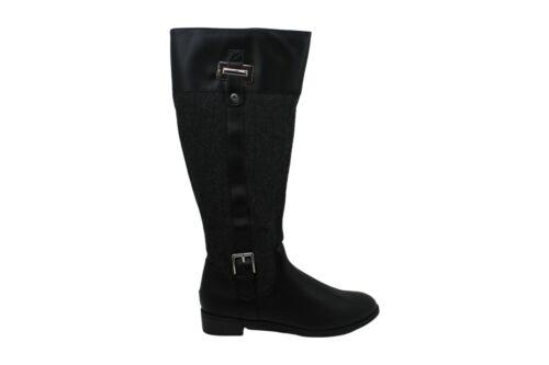 Karen Scott Womens deliee2 Leather Almond Toe Knee High Fashion Boots