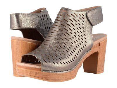 New Dansko Danae Milled Nubuck Leather Sandals 38 39 40 7