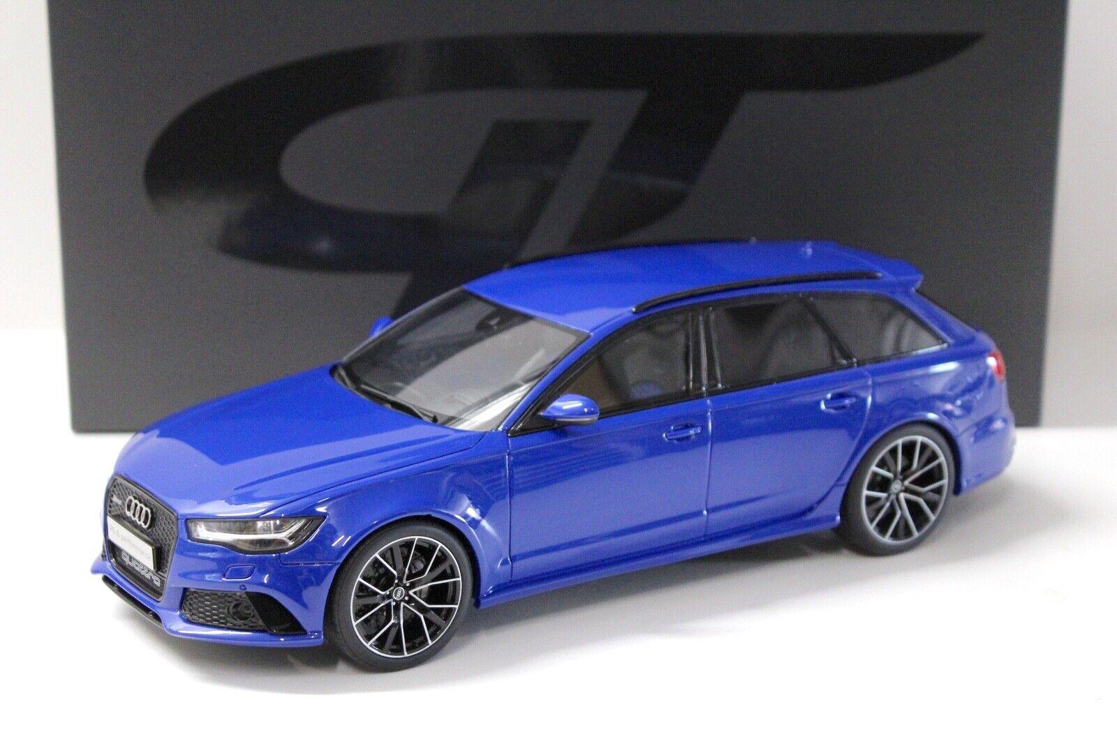n ° 1 en línea 1 18 GT Spirit audi rs6 avant performance Nogaro azul azul azul New en Premium-modelCoches  Garantía 100% de ajuste