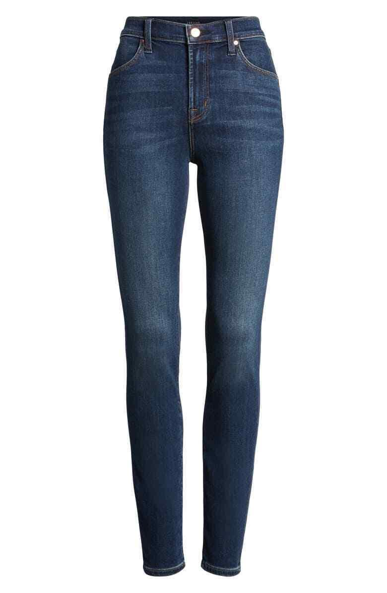 Nouveau 299   J Brand Blau Femme HIGH-RISE SKINNY jambe cheville Casual Jeans Größe 29