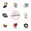 BT21-Character-Universtar-Artwork-Metal-Badge-Official-K-POP-Authentic-Goods miniature 1