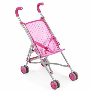 Bayer Chic 2000 Mini-Buggy Roma Dots Pink NEU